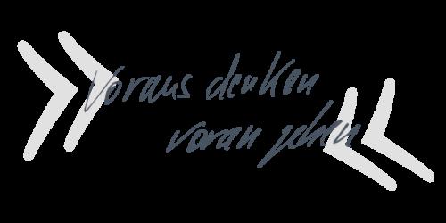 Handschriftzug_voraus denken_web